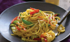 Vegetable Lo Mein – Jamie Geller – Stir Fry Recipes Vegetarian