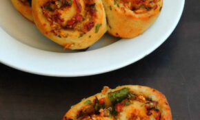 Vegetable Masala Bun In 12 | Vegetable Masala, Savory ..