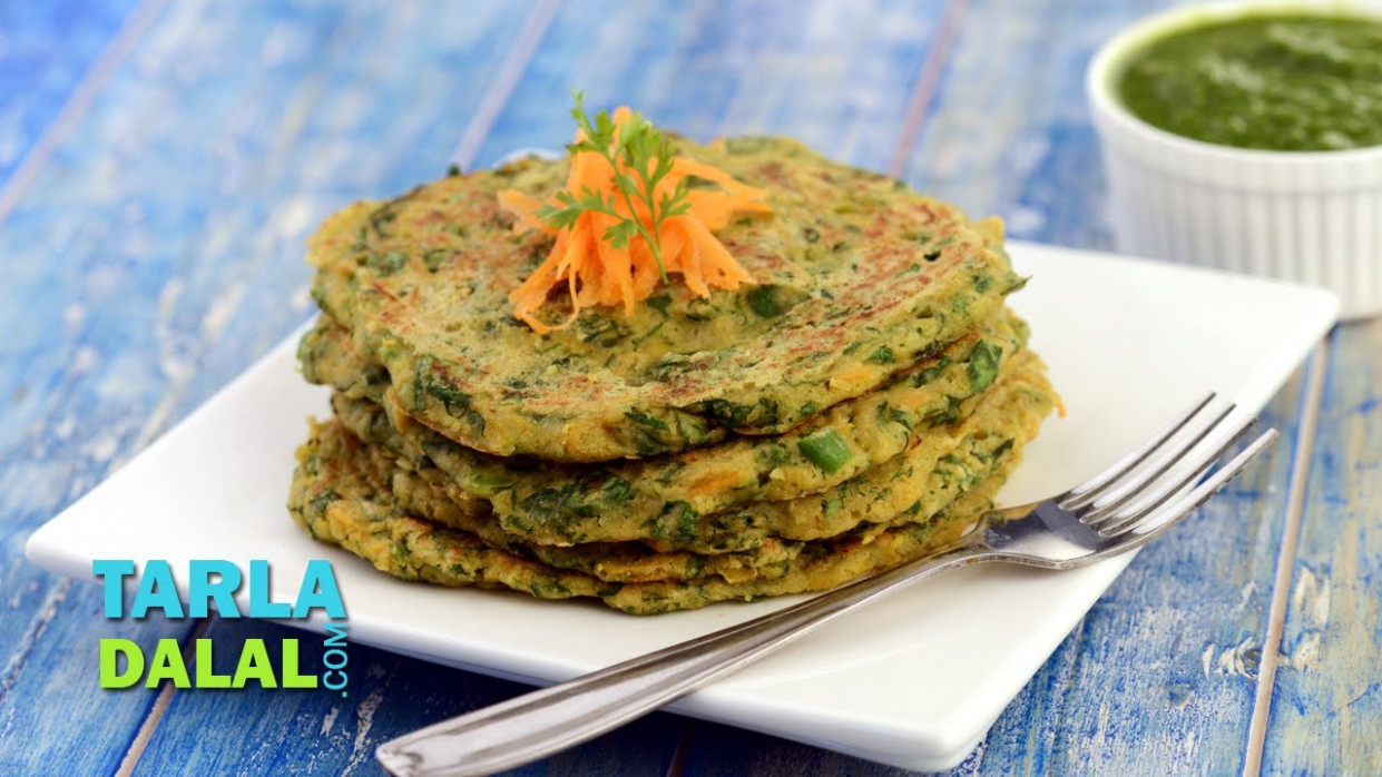 Vegetable Oats Pancake - indian breakfast recipes vegetarian