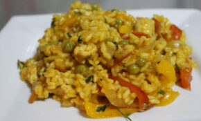 Vegetable Paella – Easy Cheesy Vegetarian – Quorn Recipes Chicken Pieces