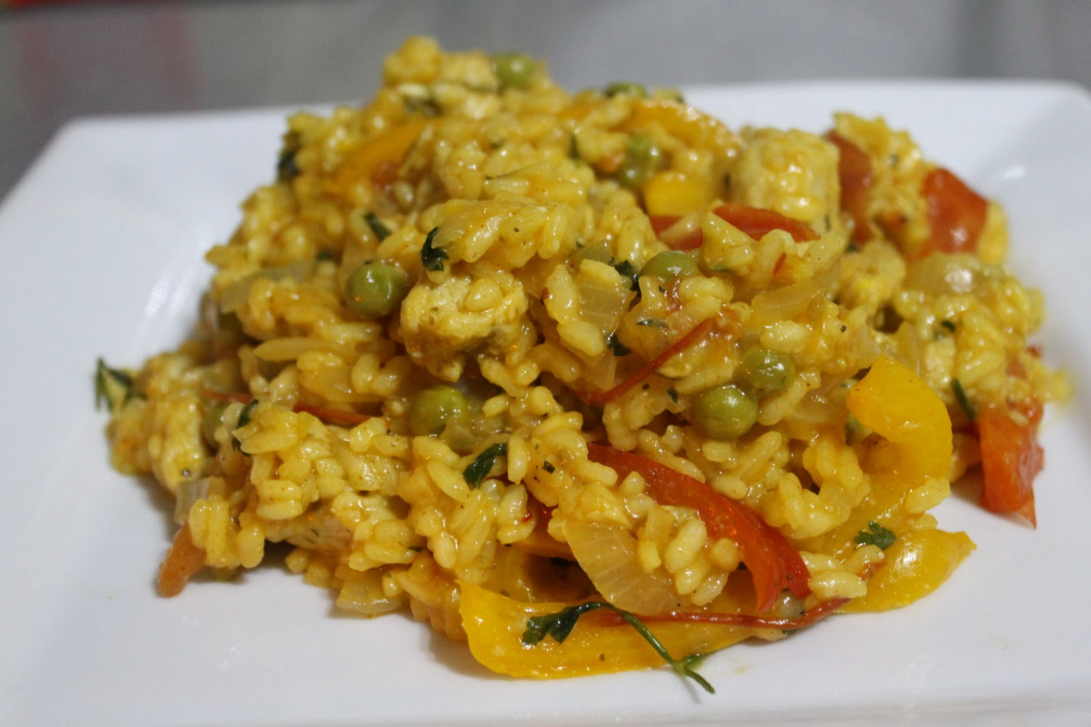 Vegetable Paella – Easy Cheesy Vegetarian - Quorn Recipes Chicken Pieces