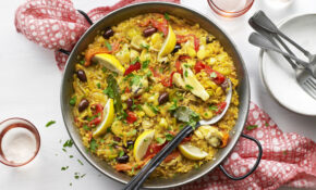 Vegetable Paella – Food Recipes Vegetarian