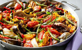 Vegetable Paella — Meatless Monday | FN Dish – Behind The ..