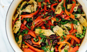 Vegetable Paella Recipe – Cookie And Kate – Vegetarian Recipes Oven