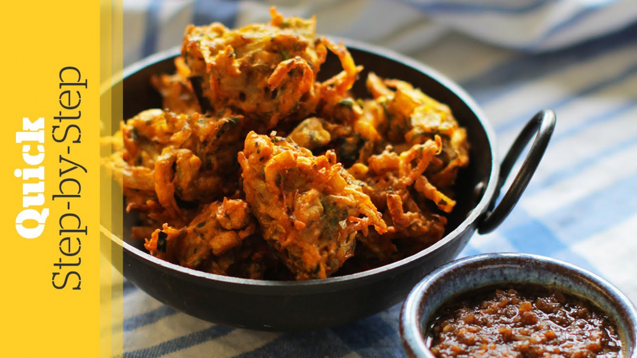Vegetable Pakora - indian food recipes vegetarian