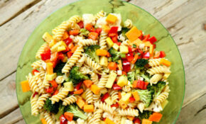 Vegetable Pasta Salad – Women Fitness – Pasta Salad Recipes Vegetarian