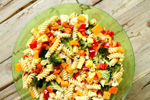 Vegetable Pasta Salad - Women Fitness - pasta salad recipes vegetarian