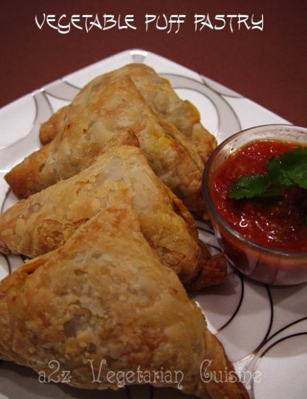 Vegetable Puff Pastry Recipe by Muskaan - CookEatShare - recipes puff pastry vegetarian