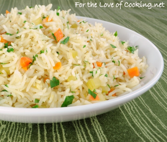 Vegetable Rice Pilaf | For The Love Of Cooking - Recipes Rice Vegetarian