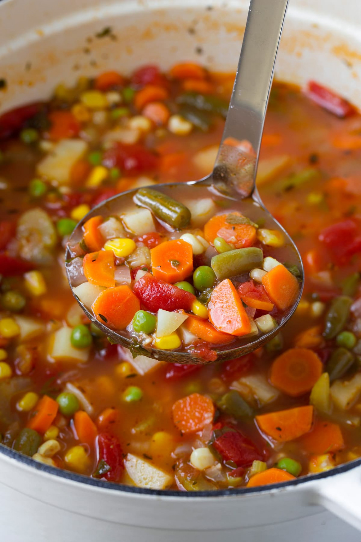 Vegetable Soup - best homemade chicken vegetable soup recipes