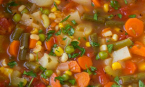Vegetable Soup – Cooking Classy – Healthy Soup Recipes Vegetarian