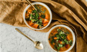 Vegetable Soup Vegan Vegetarian Healthy Dinner Recipe Blog ..