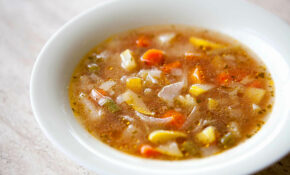 Vegetable Soup With Sweet Basil Recipe   SimplyRecipes
