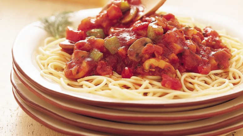 Vegetable Spaghetti Sauce recipe from Betty Crocker - recipes vegetarian pasta sauce