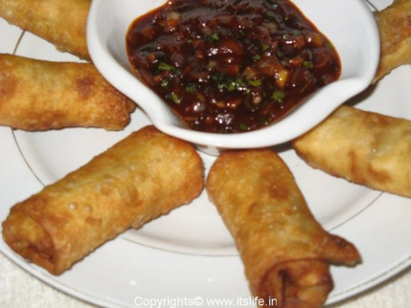 Vegetable Spring Rolls Recipe | Chinese Recipe ..