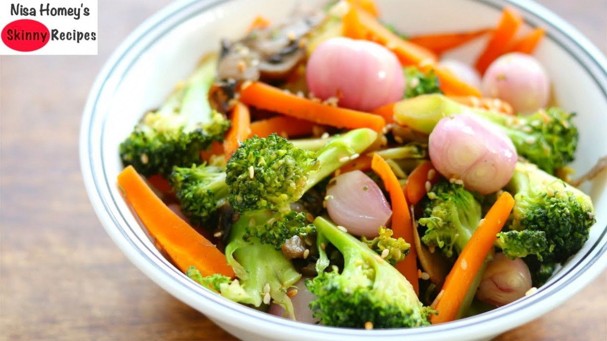 Vegetable Stir Fry Recipe - Keto Diet - Low Carb Dinner ..