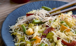 Vegetable Stir Fry With Rice Noodles – Vegetarian Recipes With Rice And Vegetables