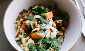 Vegetable Tagine With Apricot Couscous – Tagine Recipes Vegetarian