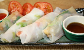 Vegetable Wraps In Vietnamese Rice Paper – Asian In America – Vegetarian Wraps And Rolls Recipes