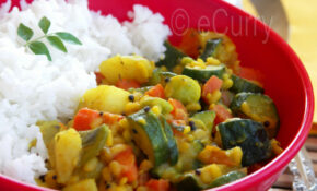 Vegetables & Lentils With Ground Spices – Healthy Recipes On A Budget