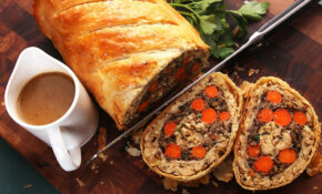 Vegetables Wellington (The Ultimate Vegan Plant Based Holiday Roast) Recipe – Vegetarian Recipes Oven