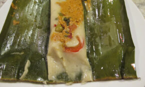 Vegetarian Banana Leaf Tamales Recipe — Dishmaps – Recipe Vegetarian Tamales