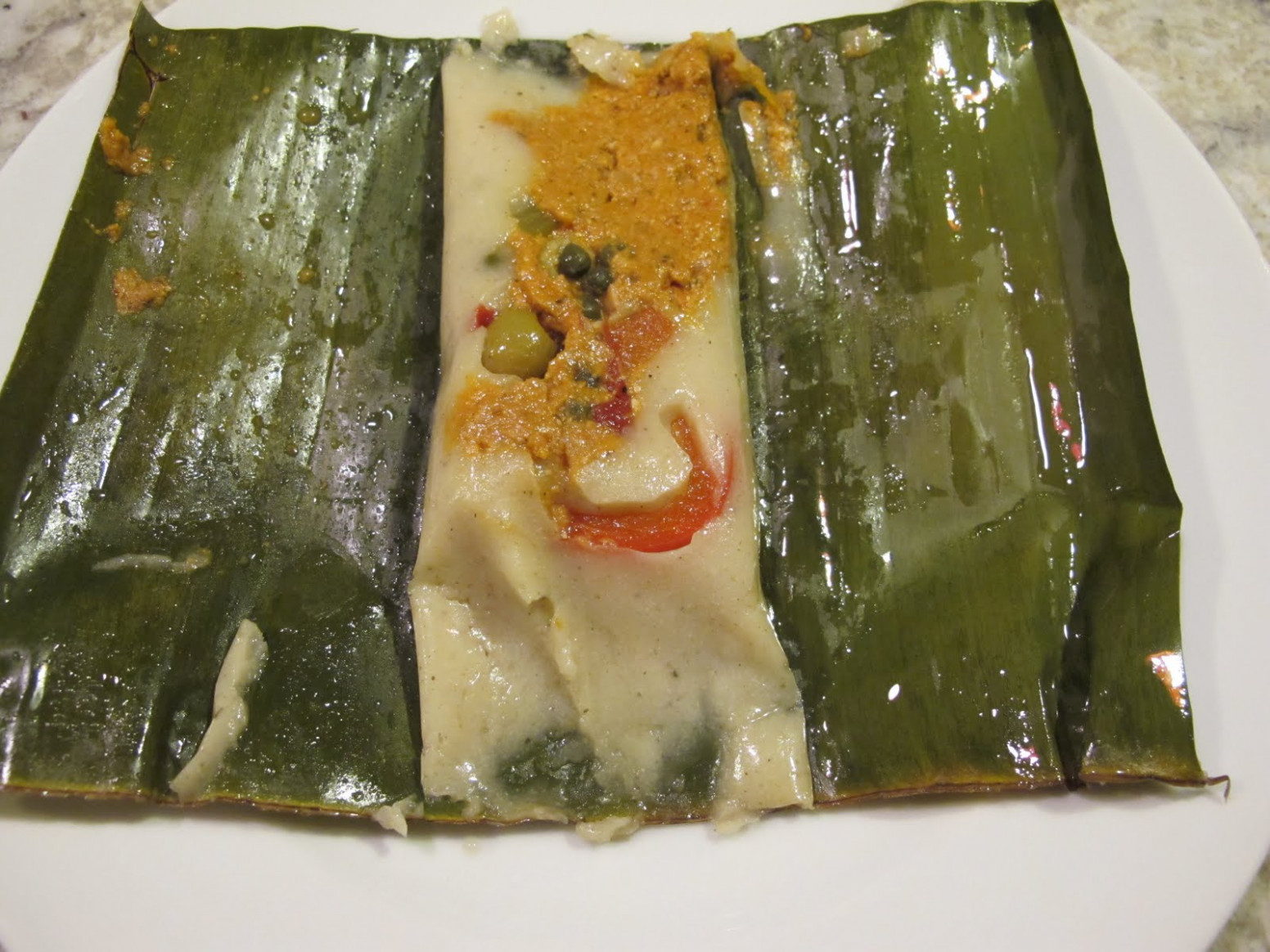 Vegetarian Banana Leaf Tamales Recipe — Dishmaps - Recipe Vegetarian Tamales
