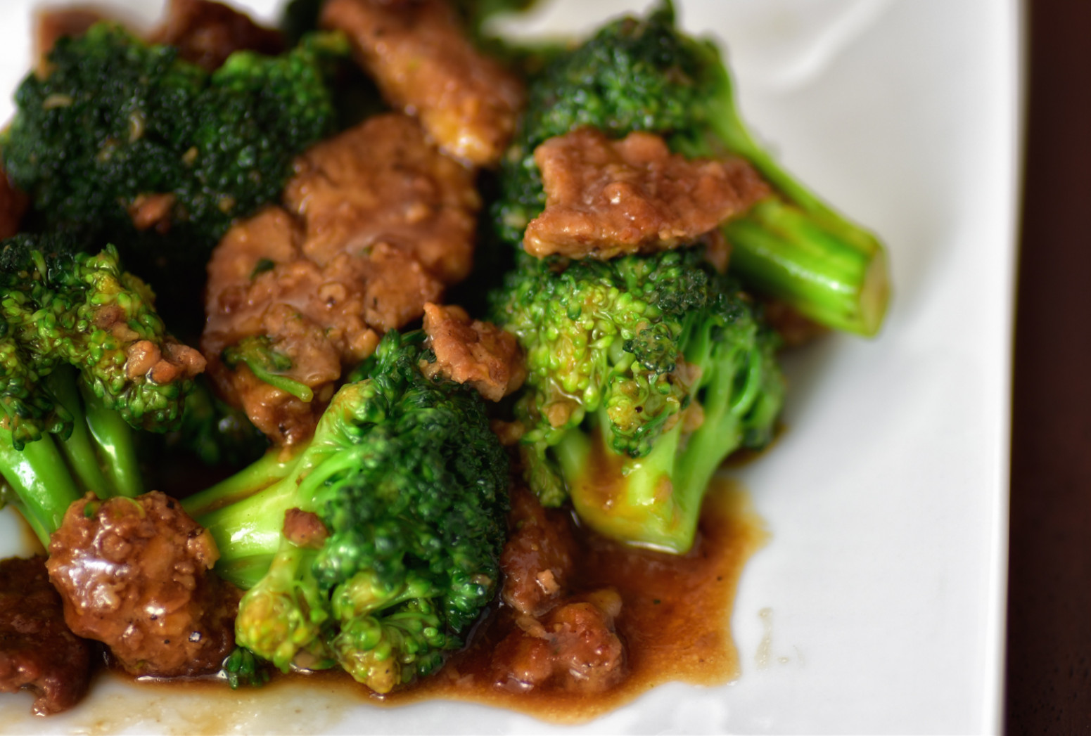 Vegetarian Beef and Broccoli - vegetarian chinese food recipes