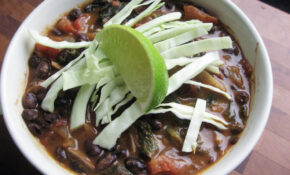 Vegetarian Black Bean Soup – Recipes Butter Beans Vegetarian