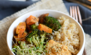 Vegetarian Brown Rice Bowl – Fit Foodie Finds – Vegetarian Rice Bowl Recipes