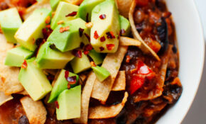 Vegetarian Butternut Squash Chipotle Chili With Avocado – Recipes With Avocado Dinner