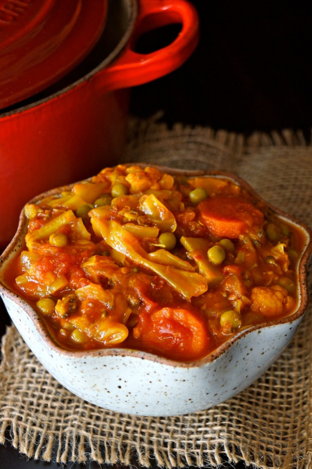 Vegetarian Cabbage Stew with Tomato and Turmeric | Cooking ..
