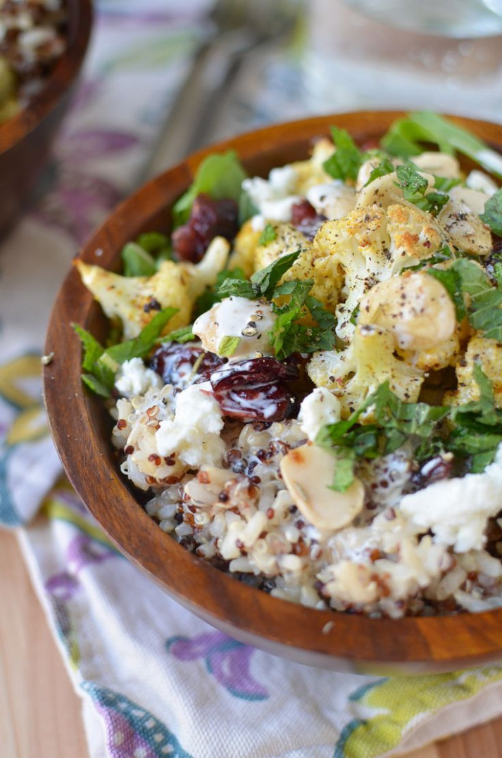 Vegetarian Cauliflower Rice Bowl | Recipe | Rice bowls ..