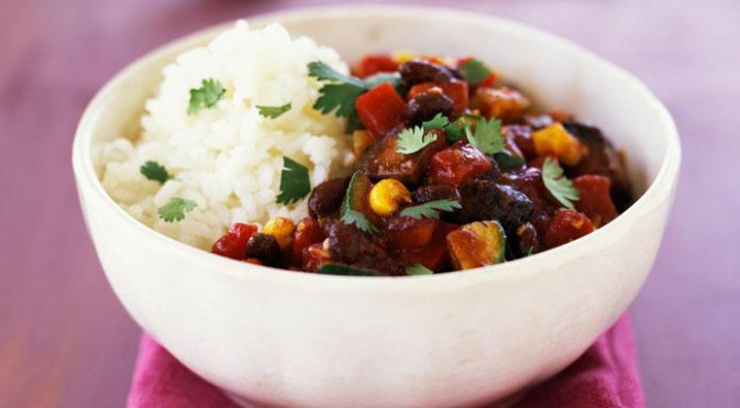Vegetarian Chili: An Easy Recipe For A Vegetarian Chili - recipes main course vegetarian