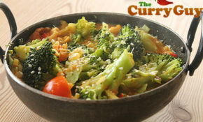 Vegetarian Curry Recipes | Broccoli Curry By The Curry Guy