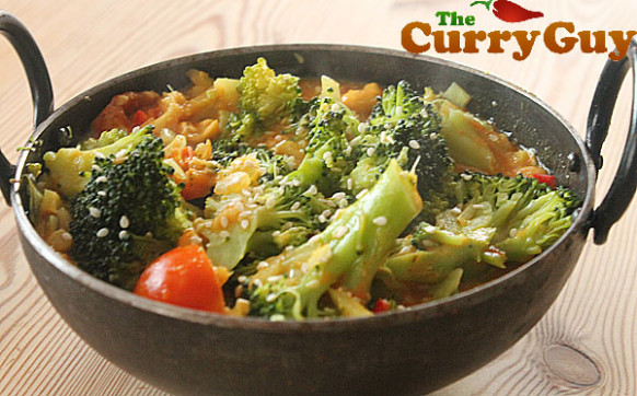 Vegetarian Curry Recipes | Broccoli Curry By The Curry Guy - Recipes With Broccoli Vegetarian