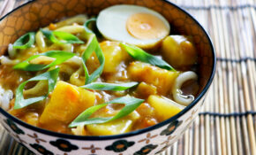 Vegetarian Curry Udon Noodles | Asian Inspirations – Udon Recipes Vegetarian