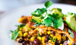 Vegetarian Enchilada Casserole – Healthy Recipes Enchilada Casserole