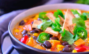Vegetarian Enchilada Soup – Recipes Vegetarian Enchiladas