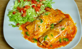 Vegetarian Enchiladas - Manjula's Kitchen - Indian ...