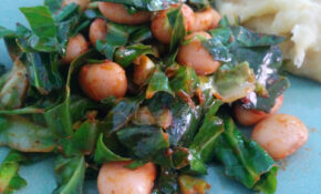 Vegetarian Food FTW: Smoky Spring Greens With Butter Beans ..