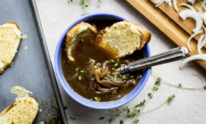 Vegetarian French Onion Soup – Recipe Vegetarian Onion Soup