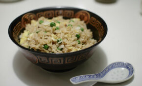 Vegetarian Fried Rice With Egg And Peas – Recipe Vegetarian Fried Rice