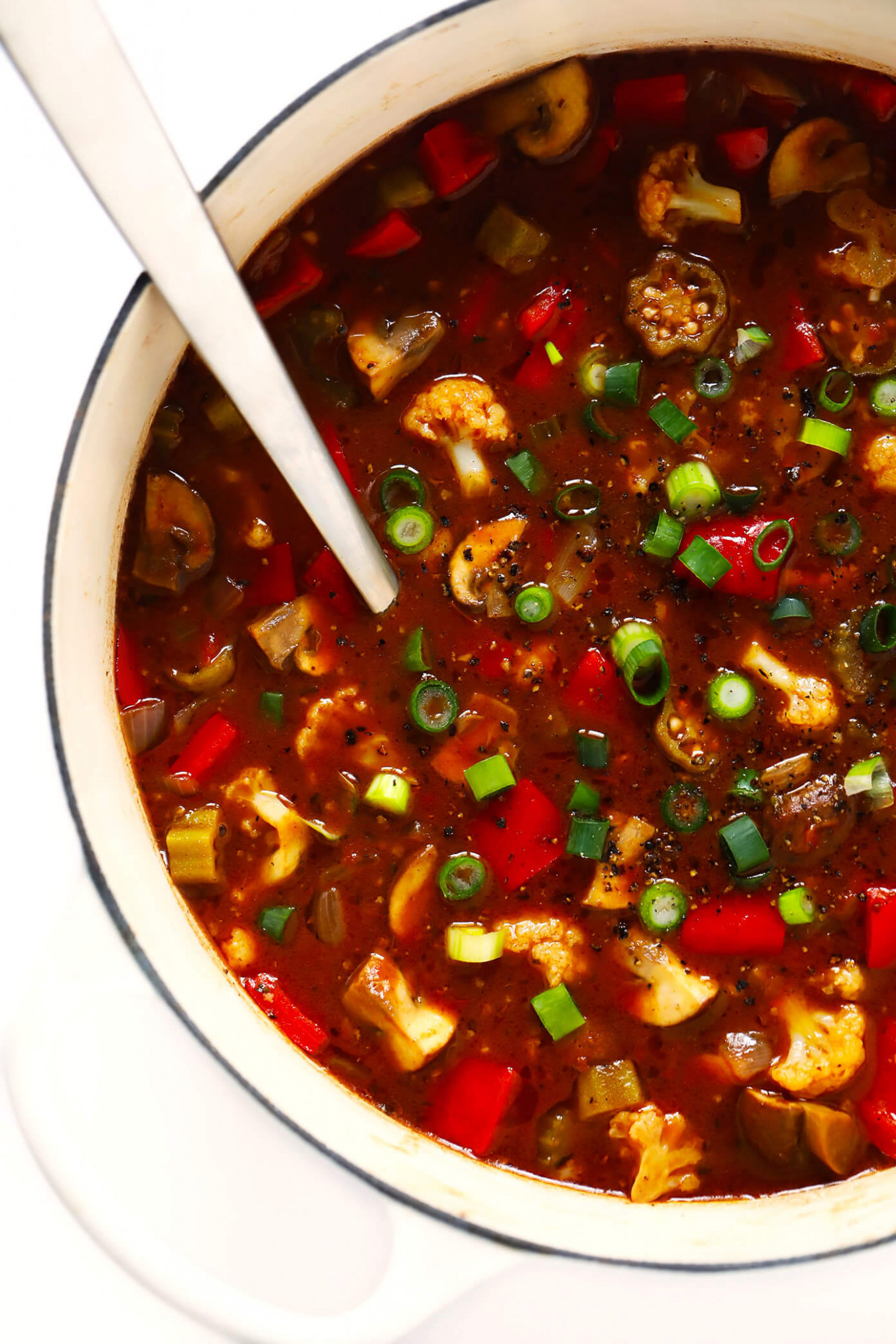 Vegetarian Gumbo | Gimme Some Oven - Recipe Vegetarian Gumbo