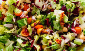 Vegetarian Italian Chopped Salad – Cookie And Kate – Lettuce Salad Recipes Vegetarian