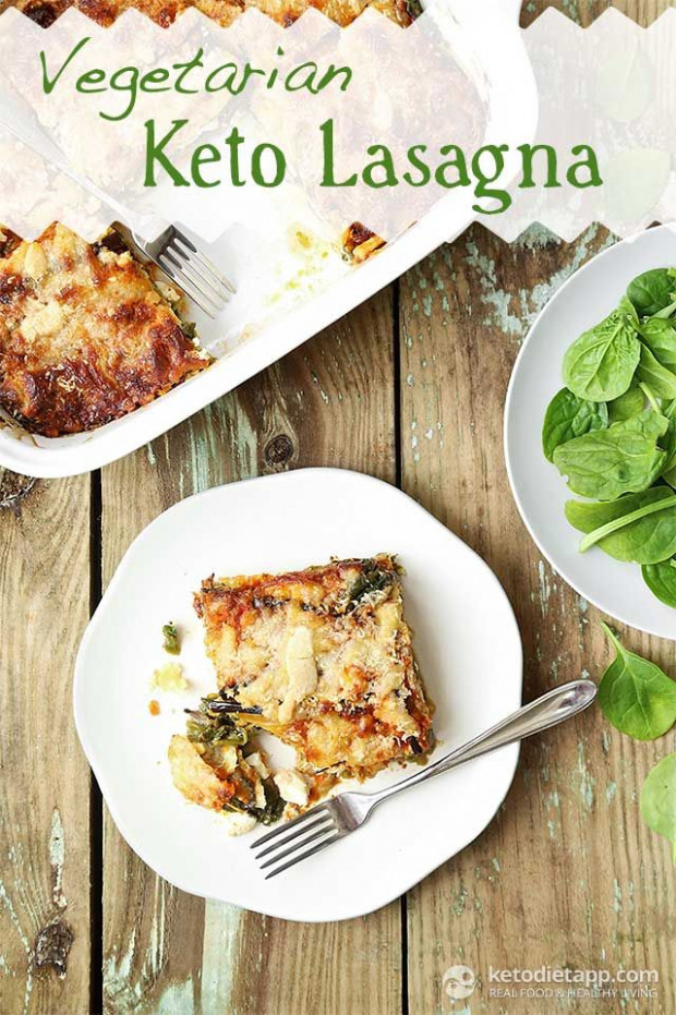 Vegetarian Keto Lasagna | Recipe | Low Carb Casseroles ..