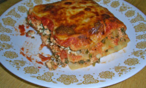 Vegetarian Lasagna – Delicious Vegetarian Recipes Dinner