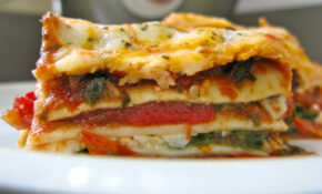 Vegetarian Lasagna Recipe — Dishmaps – Recipes For Vegetarian Lasagna