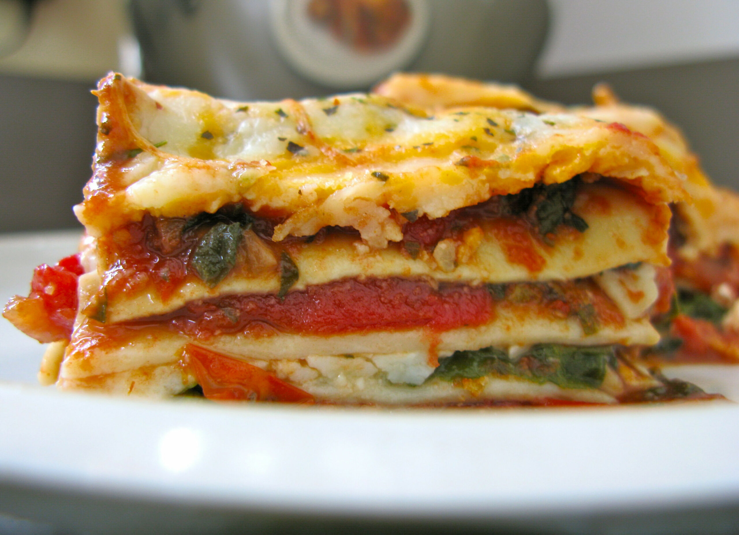 Vegetarian Lasagna Recipe — Dishmaps - recipes for vegetarian lasagna