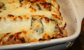 Vegetarian Lasagna Recipe — Dishmaps – Recipes Vegetarian Lasagne